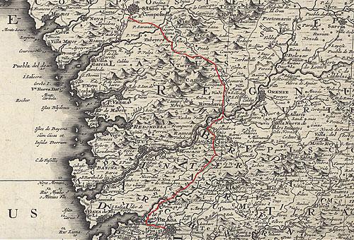 Mapa de 1704
