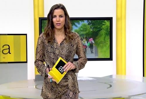 El Camino  Miñoto Ribeiro en el programa la Revista de la CRTVG